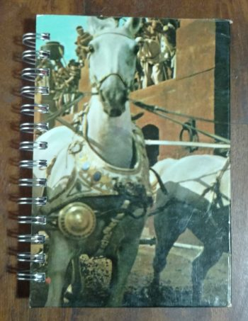 Ben Hur Horse Book Journal