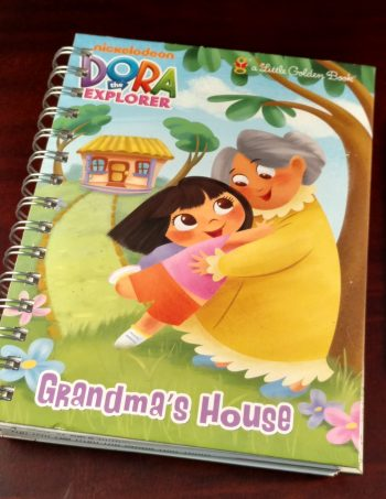 Grandma's House Dora the Explorer Recycled Book Journal