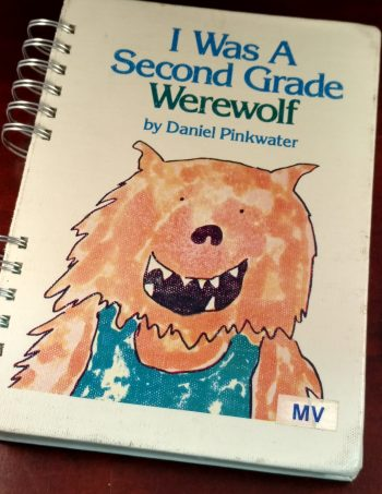 I Was a Second Grade Werewolf Book Journal