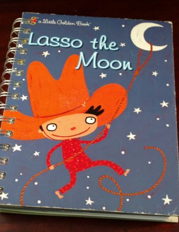 Lasso the Moon Recycled Book Journal 970