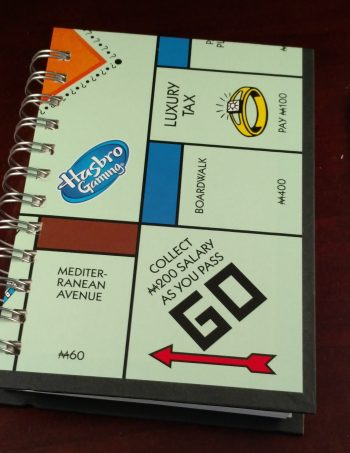 Monopoly Board Game Notebook 1209