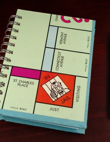 Monopoly Game Board Notebook 1192