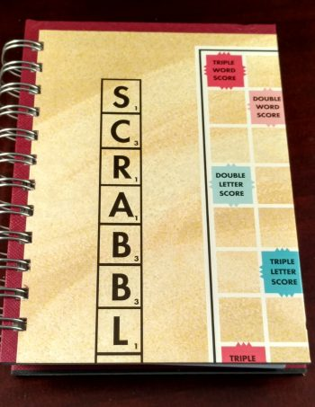 Scrabble Board Game Notebook 1200