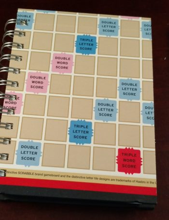 Scrabble Board Notebook