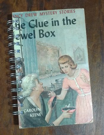 The Clue in the Jewel Box Book Journal