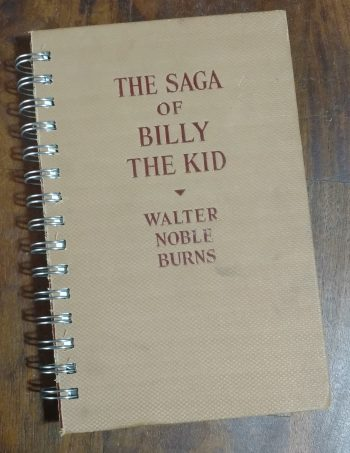 The Saga of Billy the Kid Book Journal