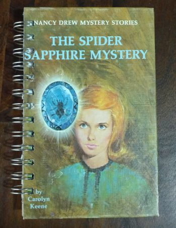 The Spider Sapphire Mystery Book Journal