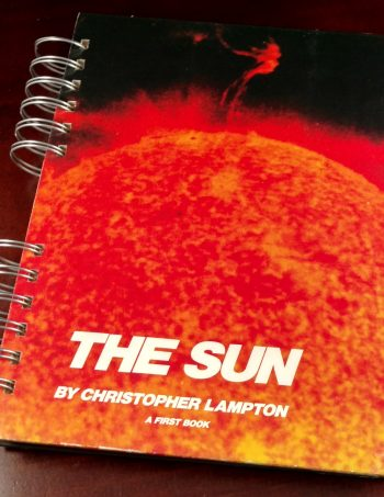 The Sun Recycled Book Journal