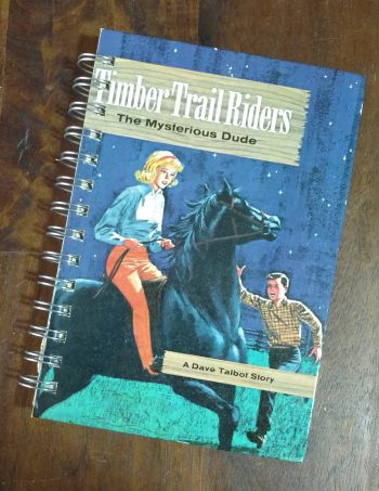 Timber Trail Riders The Mysterious Dude Book Journal