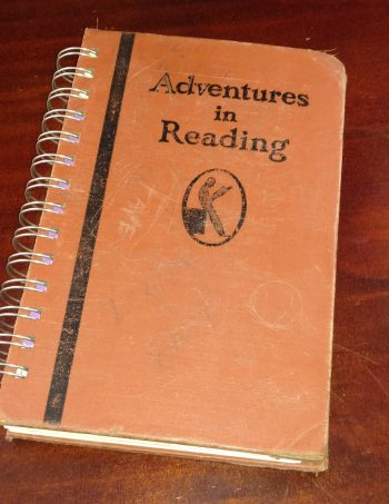 Adventures in Reading Recycled Book Journal