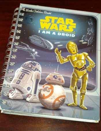 I am a Droid Recycled Book Journal