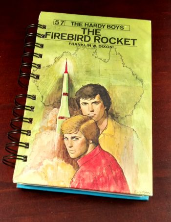 The Firebird Rocket Recycled Book Journal