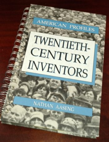 Twentieth Century Inventors Recycled Book Journal